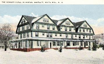 The Howard Hotel Later Named Bartlett Was Located In Center Of Village It Burned And Is Now A Town Park