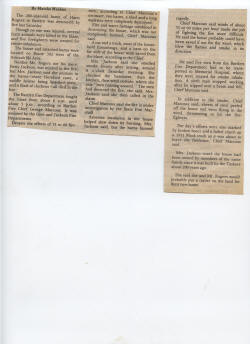 Irregular newspaper article